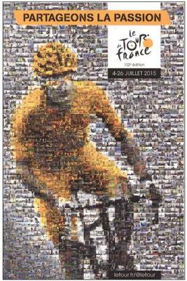 Affiche Tour de France 2015