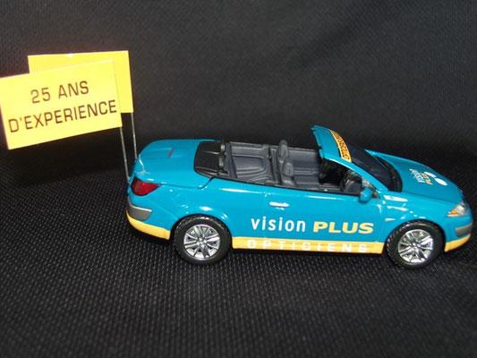 Renault Mégane cabriolet VISION PLUS    Tour de France 2007