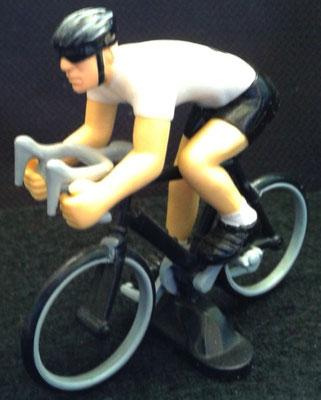 Cycliste Maillot Blanc (Meilleur jeune)