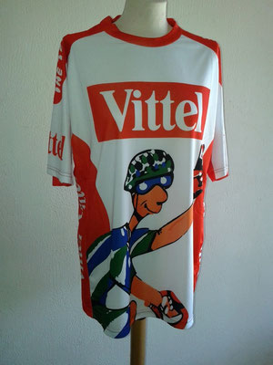 "Tee-shirt  "" The Team VITTEL "" Tour de France 2013 -- Devant"