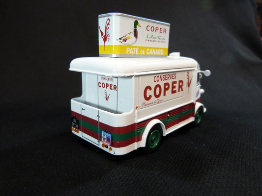 Citroën HY Conserves COPER Tour de France 1966