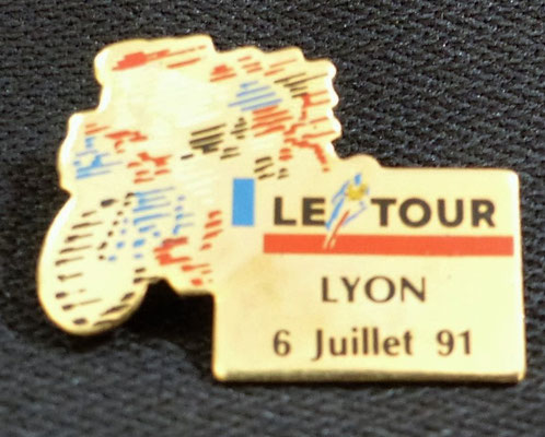 6 juillet 1991  Départ de Lyon