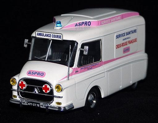 CITROËN HY LE BASTARD    ASPRO    Service sanitaire    Tour de France 1966