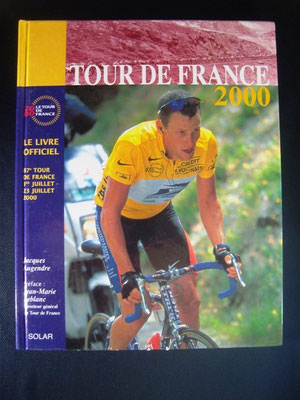 Livre officiel Tour de France 2000