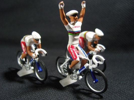 Equipe 3 cyclistes COFIDIS   Champion du monde  Tour de France 2004