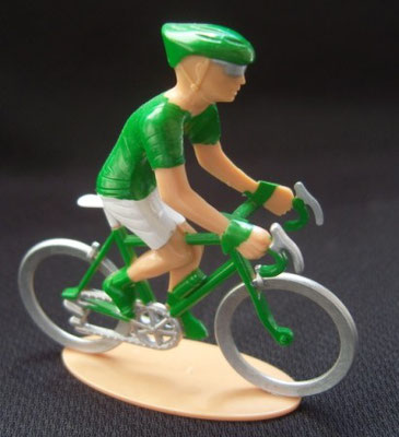 Cycliste maillot vert Sprinter Echappée infernale 2010