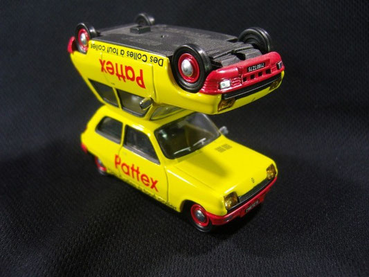 Renault Super 5 Colle PATTEX    Tour de France 1987