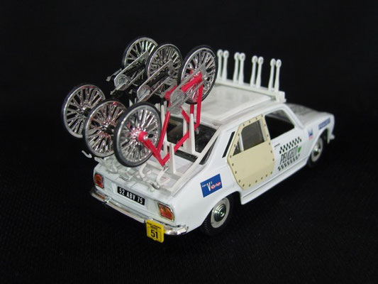 Peugeot 504 Equipe PEUGEOT                                     Tour de France 1975