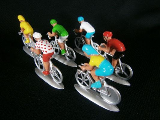 Cycliste NOREV  vue de dos