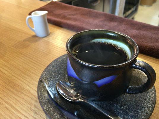 のっぽろのコーヒー、美味しかった
