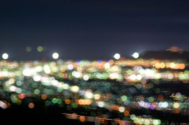 裏夜景の地元情報を頂き、見に行きました