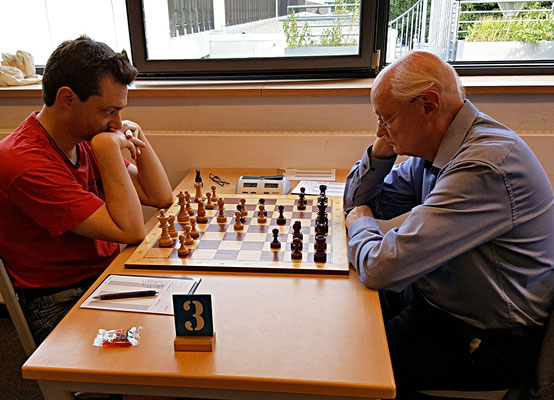 08. Juni 2018 - 7. Runde: Mirco Wendriner gegen Fritz Fegebank - Foto © Wofgang Wilke
