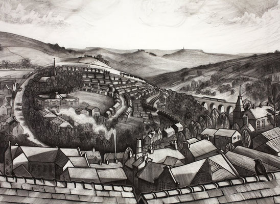 'Leygate View' (charcoal)