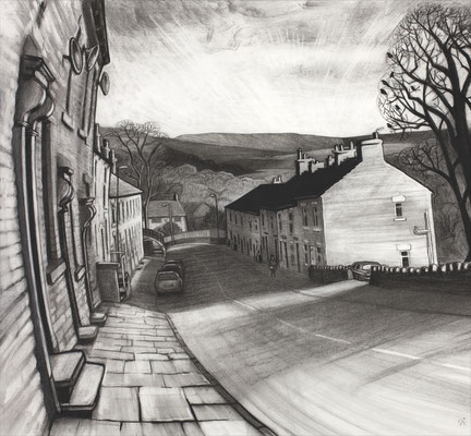'Sunday morning coming down' (charcoal)
