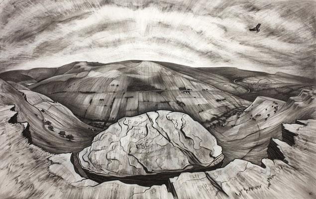 'big stone' (charcoal)