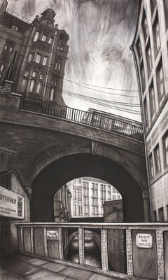 Valette's Bridge (charcoal)
