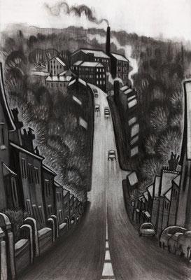 'Swizzels Hill' (charcoal)