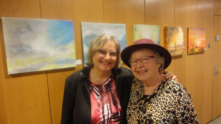 Besuch von Sonja-Evelyne Rusterholz, Schriftstellerin und FB-Freundin