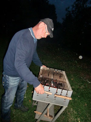 Chef am Grill