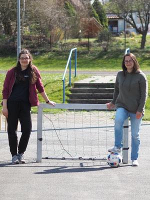 Von links: Saliha Torney und Anna Maria Müller