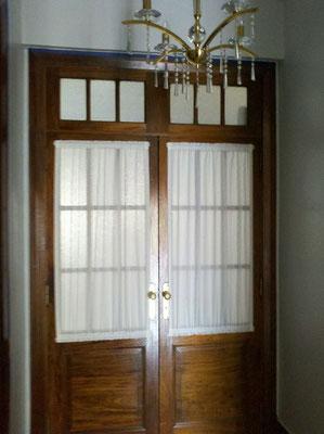 Visillo y pa o fijo odisea deco cortinados - Como pintar puertas de sapeli ...
