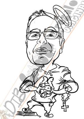 Caricatura digital personalizada individual por tan solo 20€