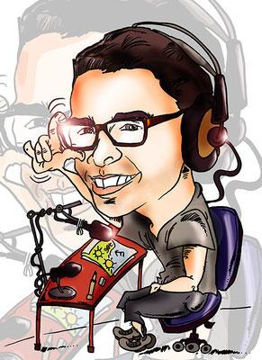 ¡Caricatura de fotografía personalizada lista para regalo en menos de 48 horas!