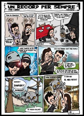 Cómic o tira cómica personalizada por tan solo 30€ / 3 viñetas