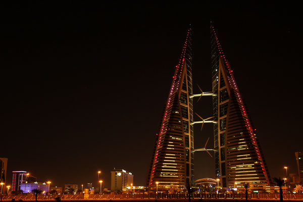 Bahrain World Trade Center (Manama, Bahrain)