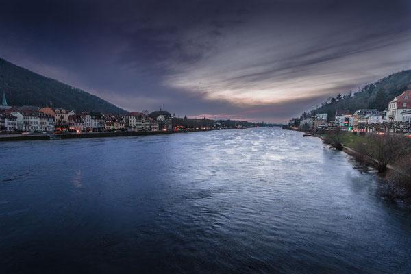 """Abendstimmung auf der """"Alten Brücke"""""""