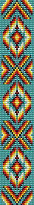 bracelet pattern, delica seed beads, peyote pattern, loom pattern, native american bracelet, Beadwork pattern, jewelry pattern, native american pattern