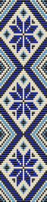 native ukraine embroidery pattern, seed beads pattern, bracelet pattern peyote, jewelry pattern, Beadwork pattern, native bracelet, geometric bracelet