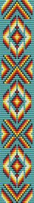 native american pattern, seed beads pattern, bracelet pattern peyote, jewelry pattern, Beadwork pattern, native bracelet, geometric bracelet