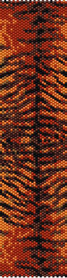 bracelet pattern, delica seed beads, peyote pattern, loom pattern, animal bracelet, Beadwork pattern, jewelry pattern
