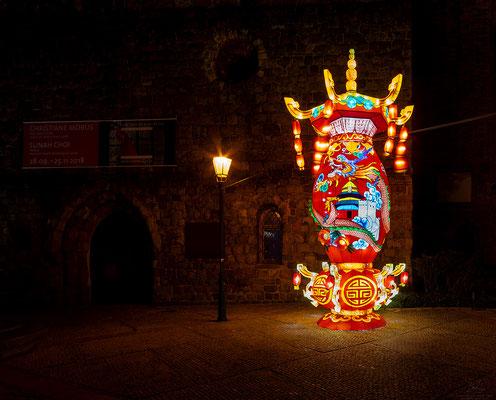 Chinesische Kunst im Nikolaiviertel
