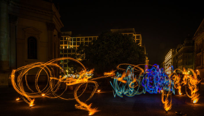 Light painting-Malen mit Licht
