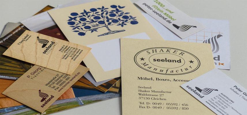 Papier, Papier, Holzkarten