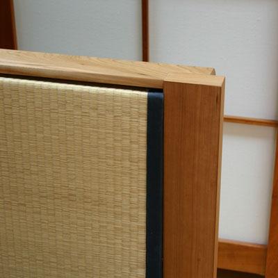 Tatami- Bett, Detail