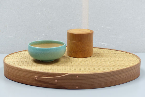 """Tea time"" Tablett / ""tatami"""