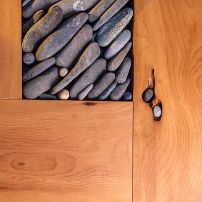 Tisch aus Libanon-Zeder, Detail