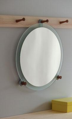 """Spiegel zu unserer Garderobenleiste """"Shaker-Line"""""""