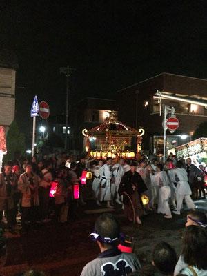 佐倉の秋祭り 仲町