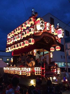 佐倉の秋祭り 鏑木お神酒所