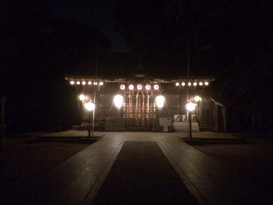 麻賀多神社境内
