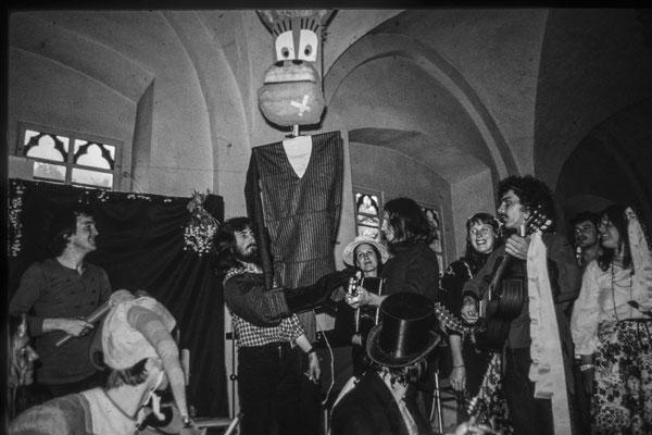 Chansontage Kloster Michaelstein 1977 mit Ilona Schlott, Gerhard Schöne, Karl-Heinz Saleh, Gruppe Quitilinga u.a.