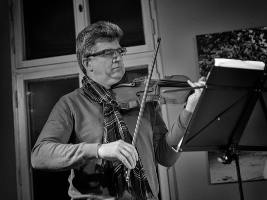 Friedrich Nieper - Violine (Foto: Sylvia Pudel)