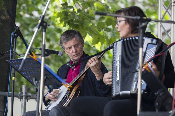Yves Le Mao und Anke Strehlow Foto: Sylvia Pudel