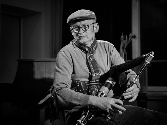 Andreas Thiele - Uilleann Pipe (Foto: Sylvia Pudel)