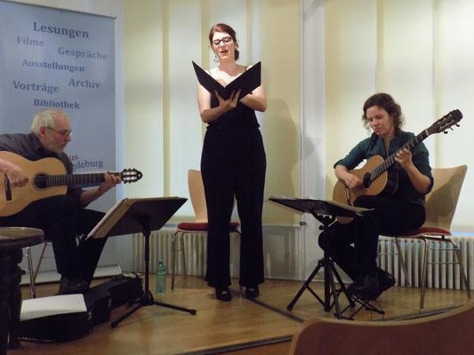 Dowlandlieder im Literaturhaus - Foto: Annegret Mainzer