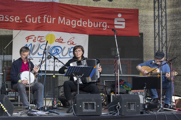 Yves Le Mao, Anke Strehlow und Thomas Riedel Foto: Sylvia Pudel